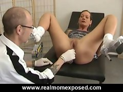 Gyno lecher bangs his luscious patient