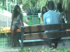 slutty wife seduce in the park part 2