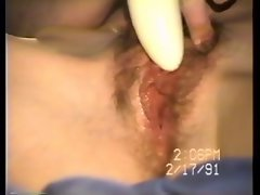Aged video of orgasm contractions