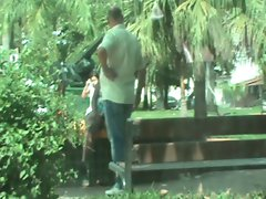 slutty wife seduce in the park part 4