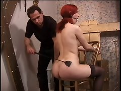 Sensual master plays with his luscious slave