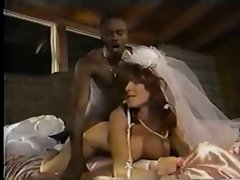 White Bride Ebony Dick