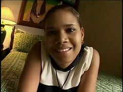 Colombian Lustful ebony Raunchy teen - First sequence
