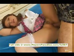 Risa Tsukino innocent amateur Chinese gets banged rough