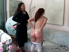 Lewd big butt redhead filthy lady gets her part4