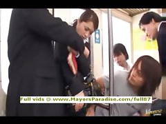 Mihiro innocent Chinese babe gets a subway banging
