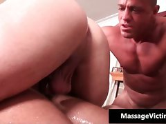 Erotic oily massage makes this gay part2