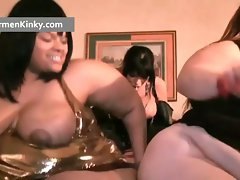 Kinky Carmen and two huge dirty ladies get part4