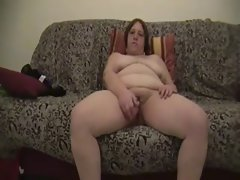 Attractive mature Big beautiful woman dildoes herself to orgasm