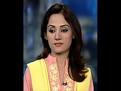 Gman Cum on Face of a Luscious Pakistani hijab TV Star Gharida Farooqi