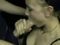 she makes big fat pecker cum