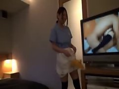 Asian Hotel Maid Getting Grinded