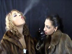 2 Mistress smoking