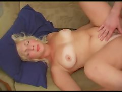 Slutty russian Attractive mature Darina and her son's friend