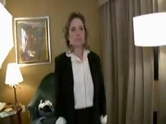 Caught by Attractive mature Hotel Manager with a Harlot by snahbrandy