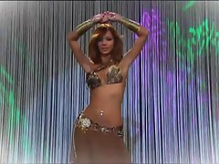 Filthy Female does a sexual Belly Dance - AWESOME!!!!