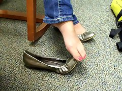 amateur shoeplay sensual