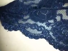 Wife's butthole in her sensual panties