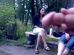 Rus Public FLASH Watching CUM Lasses 78 - NV