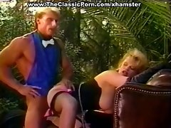 Lustful mistress fuck in the garden