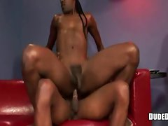 Sex hungry ebony gay cock sucking