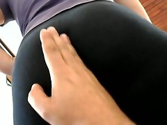 Alicia butt spandex