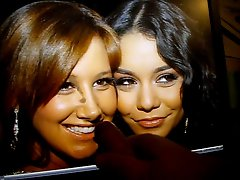 AshleyTisdale and Vanessa Hudgens sharing some cum