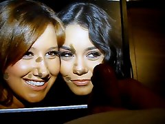 AshleyTisdale and Vanessa Hudgens sharing some cum 2