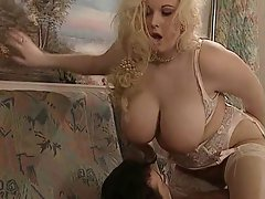 English Big beautiful woman Kirsten Halborg bum banged face spunked