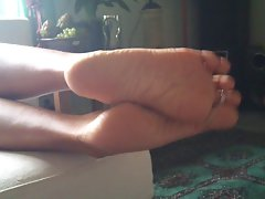 My wifes alluring soles