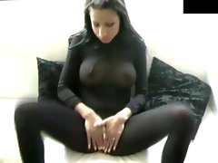 Sensual slutty girl with a sexual voice