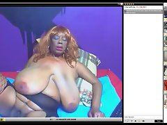 huge hooters lustful ebony on webcam