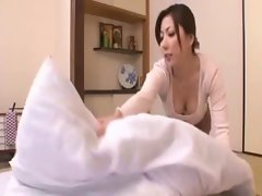 The dirty wife gave the father-in-law tempting care 2