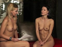 Cindy Hope has a nude interview with Carrie Du Four