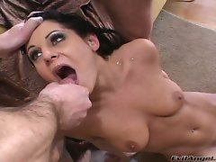 Tart Ariana Jollee gets covered in lewd pecker sauce