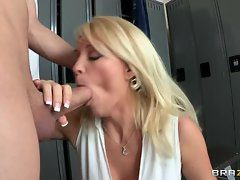 Shaft wild Charlee Chase strokes on this skin flute
