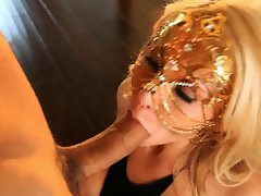 Lusty Madison Ivy licks on this throbbing skin flute