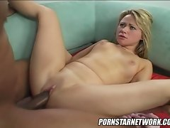 Whorish star Sindee Jennings accepts a huge shaft in her spread vagina and loves it.