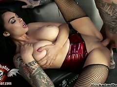 Tera Patrick having her celebrity pornstar cunt pounded nicely
