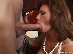 Deauxma accepts a dick in and out of her mouth like its a lollipop