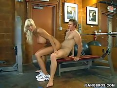 Too lewd Puma Swede slips her silky slit on top of a happy stiff