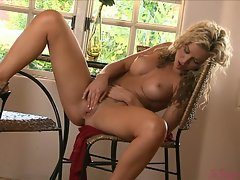 Attractive Kross buns - sexual Kayden Kross gets some slutty alone time