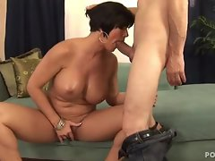 Sizzling Shay Fox gets her mouth crammed with dick