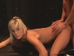Courtney Simpson get her snatch stuffed with phallus