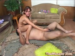 Tory Lane doing a sixty nine with obese chap