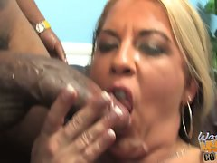 Jocklyn Stone hold rough the phallus to get attractive cum