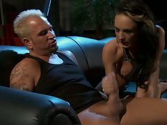 Alektra Blue young lady feel up a rough on prick