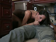 Kortney Kane attractive girl got screwed in the mouth