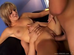 Obscene Kimberly Kane find enjoyment in a wild double penetration