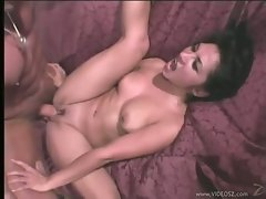 Roxy Jezel lusty gal got a rough bang on couch